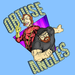The Obtuse Angles Podcast with Kyle and Jeremy logo